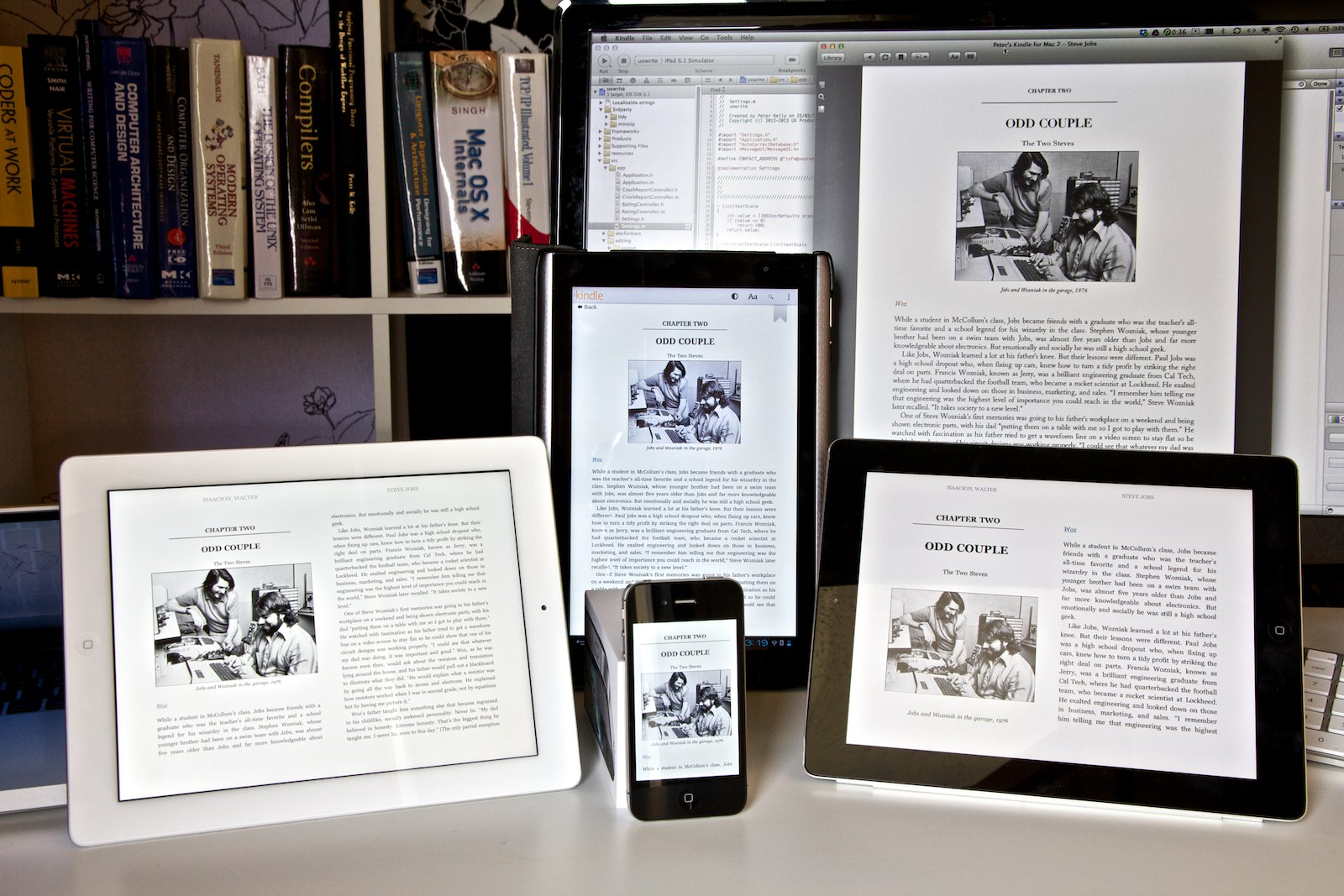 e-book layout