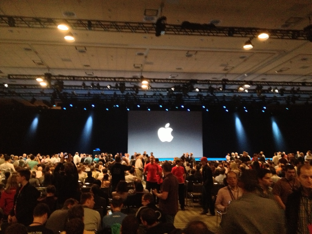 WWDC - 30 mins before the keynote