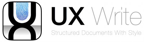 UX Write 2.0 - Logo